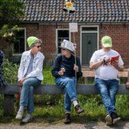 Barstjes in de lokale gemeenschap